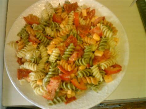 garden rotini pasta salad recipe foodcom