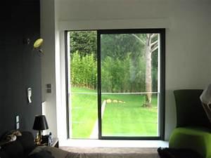 Baie à Galandage : baie vitr e galandage 1 vantail et 1 rail ~ Melissatoandfro.com Idées de Décoration