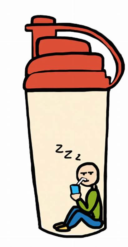 Protein Shake Powder Clipart Think Shakes Outside