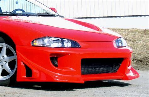 1997 Mitsubishi Eclipse Front Bumper by Blitz Front Bumper Spoiler For Mitsubishi Eclipse D30