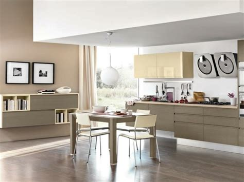 cuisine beige et marron 125 exemples de cuisines équipées ultra modernes partie 2