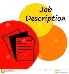 Description Of Artwork by Job Description Royalty Free Stock Photo Image 15761035