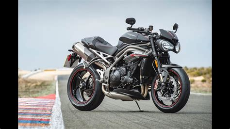 speed rs 2018 triumph speed rs 2018 nos impressions en vid 233 o