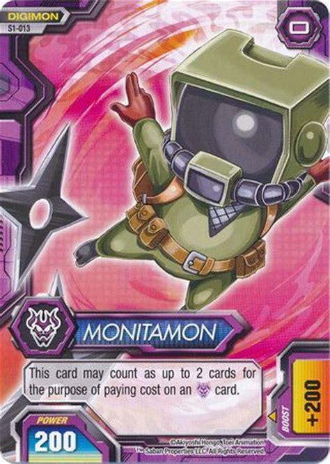 monitamon   common digimon fusion  world