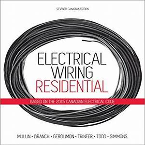 Solution Manual For Electrical Wiring Residential Canadian