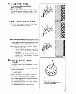 Basic Stitch Types  4 Thread Overlook Mock Safety Stitch