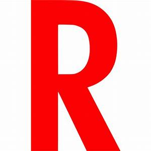 Red letter r icon - Free red letter icons