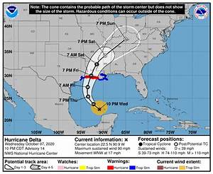 Bracing For Impact  Hurricane Warnings Now Up For U S