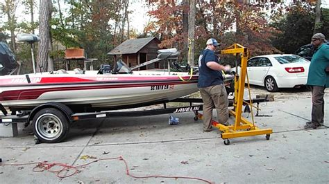 Removing A Boat From A Trailer On Land by And Easiest Way To Remove A Boat From A Trailer
