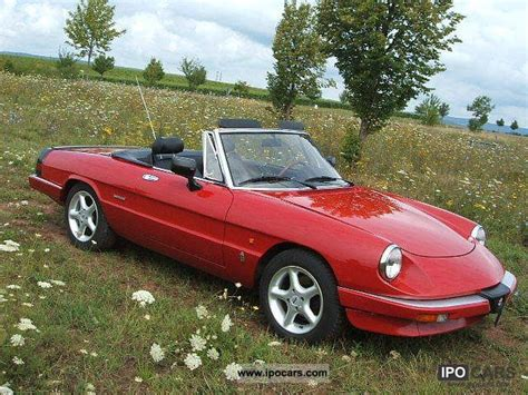 1989 Alfa Romeo Spider by 1989 Alfa Romeo Spider Photos Informations Articles