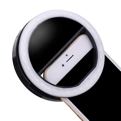 ring light for iphone portable luxury selfie led ring flash fill light