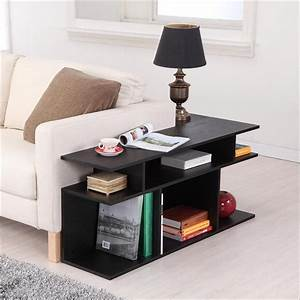 Contemporary sofa table black sectional contemporary for Sectional sofa console table