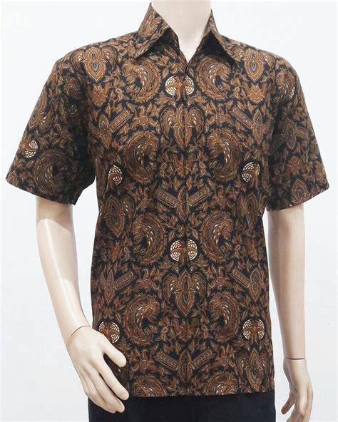 baju batik pria motif sogan batik bagoes