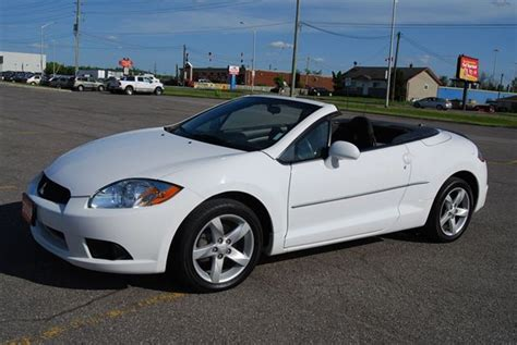 Mitsubishi Eclipse Convertible For Sale by 2009 Mitsubishi Eclipse Convertible Ottawa Ontario Used