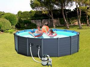 piscine autoportee marchedelapiscine With sable pour filtration piscine hors sol 11 piscinas intex