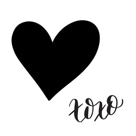 All contents are released under creative commons cc0. Hand Lettered XOXO Conversation Heart FREE SVG Cut File