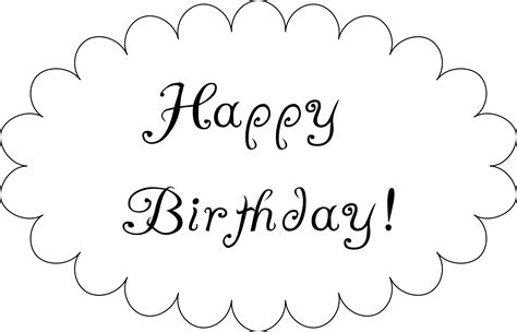 Happy Birthday To Print  Clipart Best. Make Microsoft Word Resume Sample. Free Home Budget Template. Day Of Wedding Timeline Template. Trading Card Template Word. Kennesaw State Graduation 2017. 8th Grade Graduation Gift Ideas. Excellent Travel Consultant Cover Letter. Printable License Plate Template
