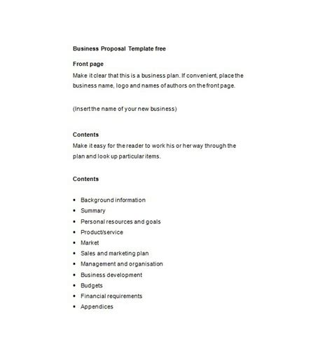 company trip proposal template 30 business proposal templates proposal letter sles