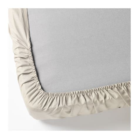 dvala fitted sheet beige ikea