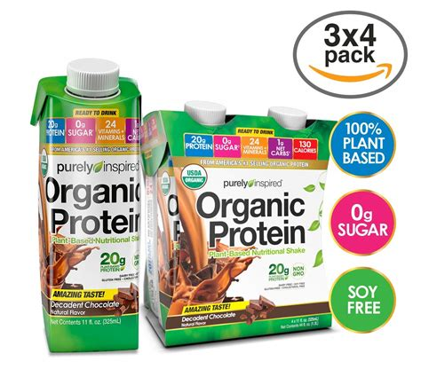 Amazon.com: Purely Inspired Organic Protein RTD 4-pack