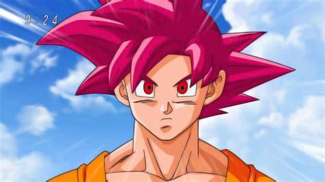 Dragon Ball Super Episódio 9 Goku Super Saiyajin Deus