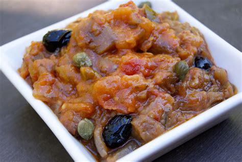 cuisine sicilienne caponata sicilienne la p 39 tite cuisine de pauline
