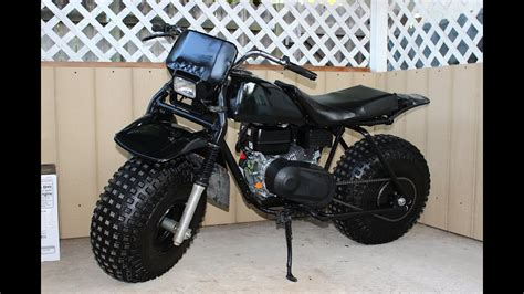 Monster Minibike Honda Atc 3 Wheeler To 2 Wheeler