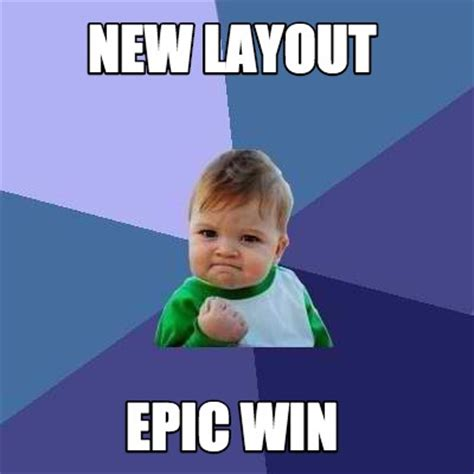 Epic Win Meme - meme creator new layout epic win meme generator at memecreator org