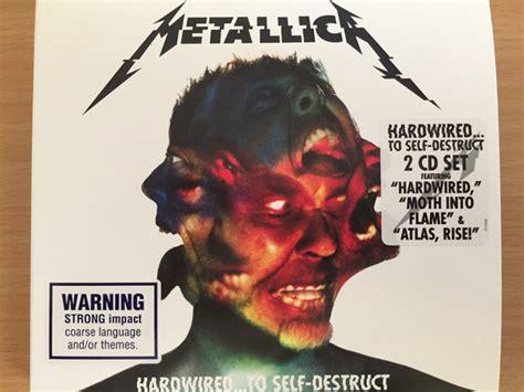 metallica hardwiredto  destruct  digipak