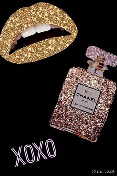 Chanel Gold Wallpapers Iphone Phone Lip Background
