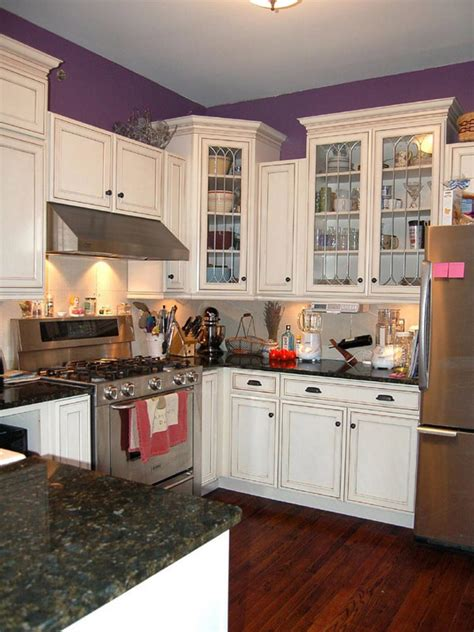 kitchen ideas white cabinets small kitchens countertops for small kitchens pictures ideas from hgtv