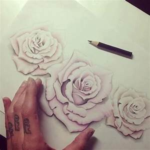 I love roses that use negative space. no hard outline ...