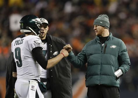 carson wentz  missing explosiveness  nick foles update