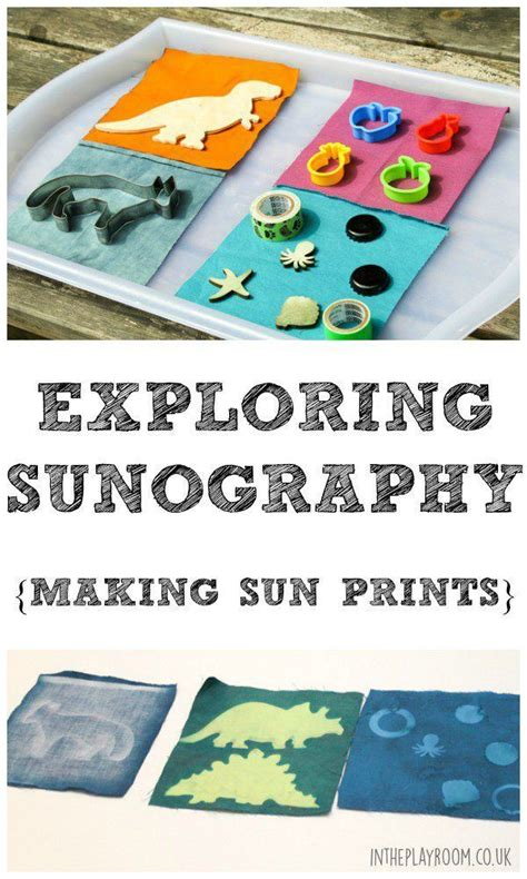 Exploring Sunography: Making Sun Prints - In The Playroom ...