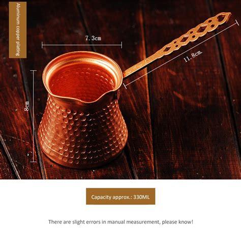 When brewing turkish coffee, a good turkish coffee pot is essential. Turkish Coffee Pot   Balma Home