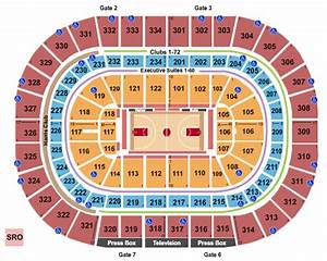 United Center Seating Chart And Maps Chicago