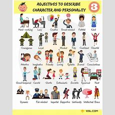 List Of Adjectives Useful Adjectives Examples In English  7 E S L