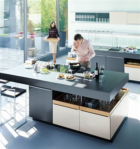 cooking islands for kitchens kitchen perfection with poggenpohl the room 5761
