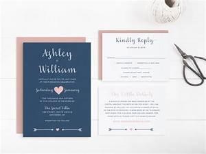 printable wedding invitation suite template editable text With wedding invitation template 4 per page