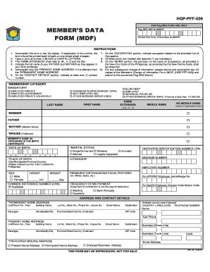 download pag ibig membership application form online ibig fill online printable fillable blank