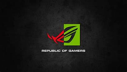 Republic Gamers Nvidia Wallpapers Rog Asus Backgrounds