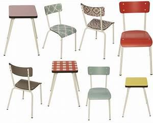 Chaise de cuisine retro for Deco cuisine avec prix des chaises