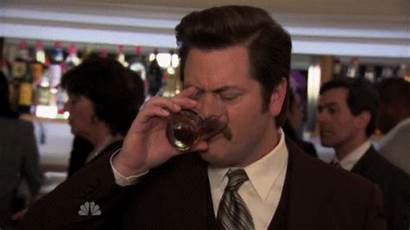Hour Happy Swanson Ron Funny Gifs Drinks