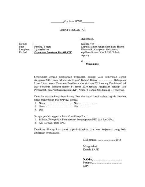 Contoh Surat Permintaan Barang Elektronik by Contoh Surat Permohonan Pengadaan Barang Dan Jasa