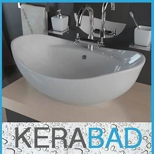 Waschtischplatte Für Einbauwaschbecken : waschtische von kerabad und andere tische f r badezimmer online kaufen bei m bel garten ~ Sanjose-hotels-ca.com Haus und Dekorationen