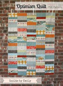 Optimism Modern Quilt Pattern Instant Download By