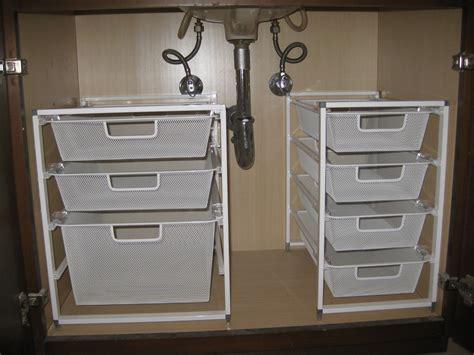 kitchen sink storage ideas bathroom organizing the sink organization pleia2