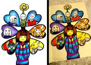 Undertale Hearts Characters