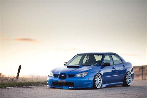 Blue Subaru Wallpaper by Subaru Impreza Wrx Sti Stance Jdm Blue Hd Wallpaper