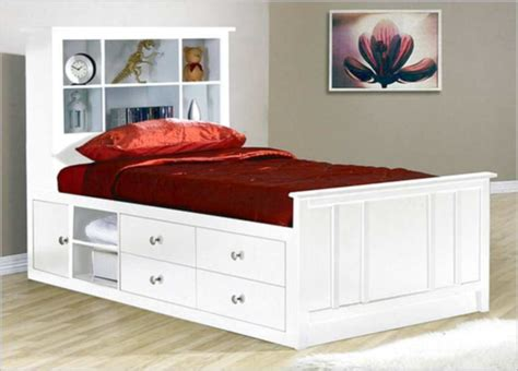 types twin bed frames  storage walsall home  garden